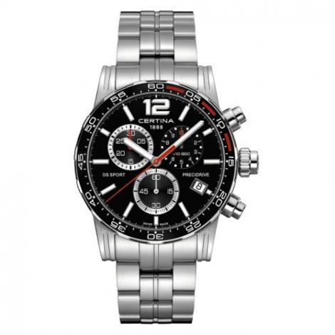 Szwajcarski, sportowy zegarek męski Certina DS Sport Chronograph 1/10 sec C027.417.11.057.02 (C0274171105702)