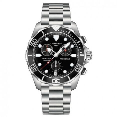 Szwajcarski, sportowy zegarek męski Certina DS Action Chronograph C032.417.11.051.00 (C0324171105100)
