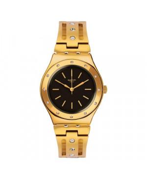 Szwajcarski, modowy zegarek damski SWATCH Irony Medium YLG135G CENTO E LODE