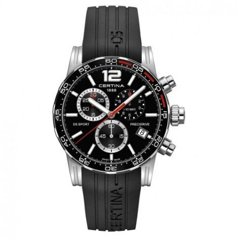 Szwajcarski, sportowy zegarek męski Certina DS Sport Chronograph 1/10 sec C027.417.17.057.02 (C0274171705702)
