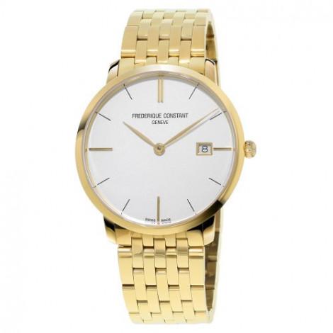 Szwajcarski, klasyczny zegarek męski FREDERIQUE CONSTANT Slimline FC-220V5S5B (FC220V5S5B)