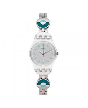 Modowy zegarek damski SWATCH Originals Lady LK377G BLUE PASTEL