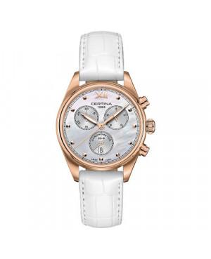 Szwajcarski, sportowy zegarek damski Certina DS-8 Lady Chronograph C033.234.36.118.00 (C0332343611800)