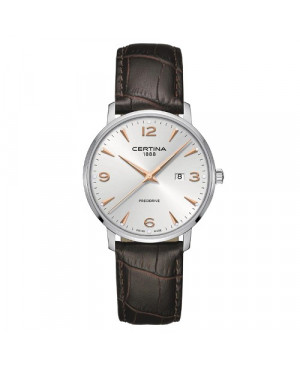 Szwajcarski, klasyczny zegarek męski Certina DS Caimano Gent C035.410.16.037.01 (C0354101603701)