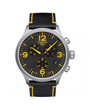 Szwajcarski, sportowy zegarek męski Tissot Chrono XL Tour De France Special Edition T116.617.16.057.01 (T1166171605701) na pasku