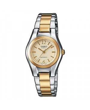 Klasyczny zegarek damski Casio Collection LTP-1280SG-9AEF (LTP1280SG9AEF)