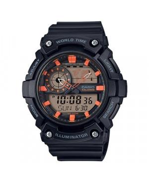 Sportowy zegarek męski Casio Collection AEQ-200W-1A2VEF (AEQ200W1A2VEF)