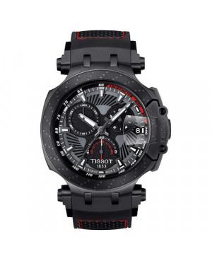 Szwajcarski, sportowy zegarek męski TISSOT T-RACE MOTOGP SPECIAL EDITION T115.417.37.061.04 (T1154173706104) na pasku