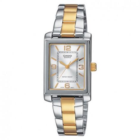 Klasyczny zegarek damski Casio Collection LTP-1234PSG-7AEF (LTP1234PSG7AEF)