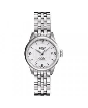 Szwajcarski, klasyczny zegarek damski TISSOT Le Locle T41.1.183.34 (T41118334)