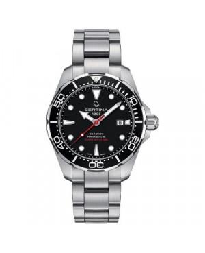 Szwajcarski zegarek męski do nurkowania CERTINA DS Action Diver Powermatic 80 C032.407.11.051.00 (C0324071105100)