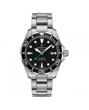 Szwajcarski zegarek męski do nurkowania CERTINA DS Action Diver Powermatic 80 C032.407.11.051.02 (C0324071105102)