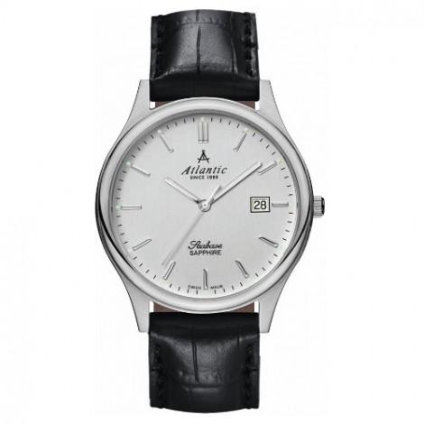 Klasyczny zegarek męski Atlantic Seabase 60342.41.21 (603424121)