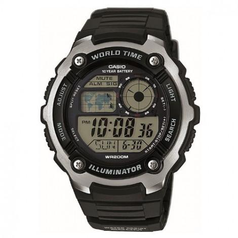 Sportowy zegarek męski Casio Collection AE-2100W-1AVEF (AE2100W1AVEF)