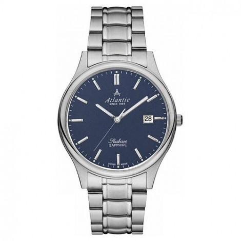 Klasyczny zegarek męski Atlantic Seabase 60347.41.51 (603474151)