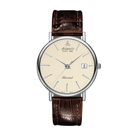 Szwajcarski klasyczny zegarek męski Atlantic Seacrest 50354.41.91 (503544191)