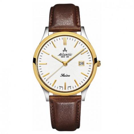 Klasyczny zegarek męski Atlantic Sealine 62341.43.21 (623414321)