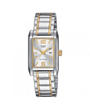 Klasyczny zegarek damski CASIO COLLECTION LTP-1235SG-7AEF (LTP1235SG7AEF)