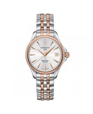Szwajcarski, sportowy zegarek damski Certina DS Action Lady Diamonds C032.051.22.036.00 (C0320512203600)
