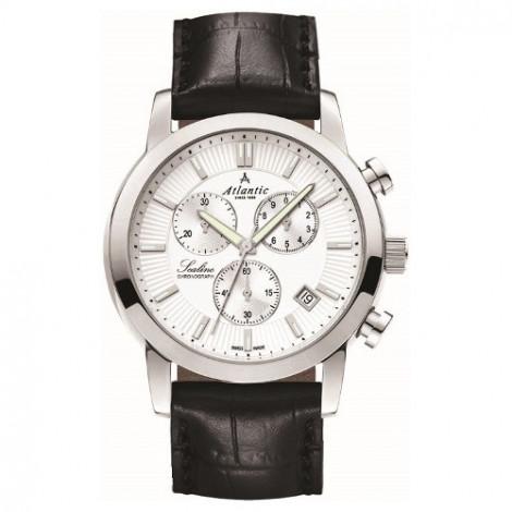 Sportowy zegarek męski Atlantic Sealine 62450.41.21 (624504121)