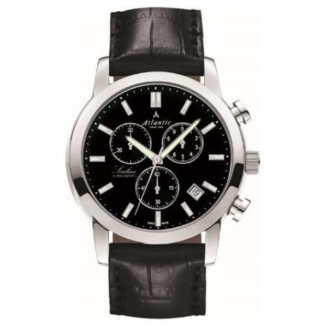 Sportowy szwajcarski zegarek męski Atlantic Sealine 62450.41.61 (624504161)