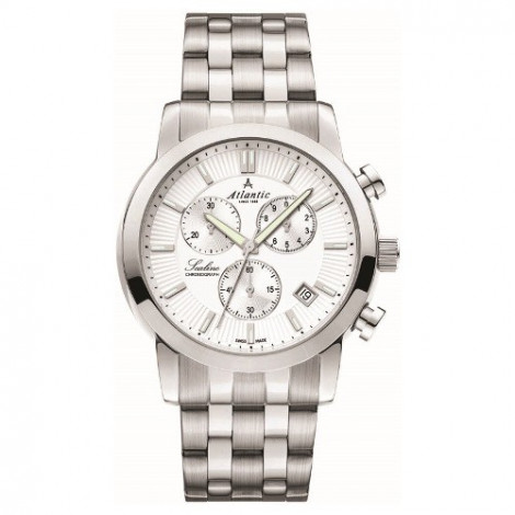 Sportowy zegarek męski Atlantic Sealine 62455.41.21 (624554121)