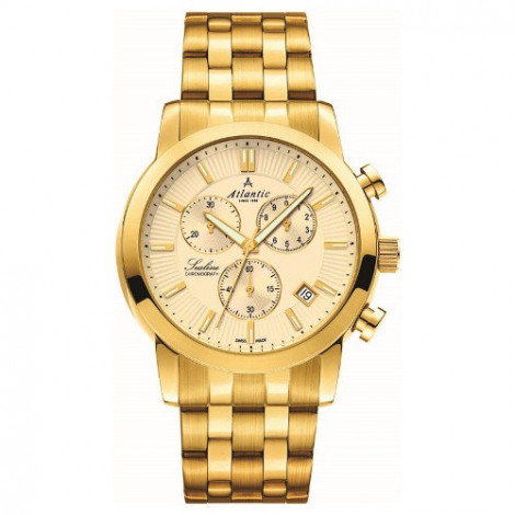 Sportowy zegarek męski Atlantic Sealine 62455.45.31 (624554531)