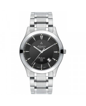 Klasyczny szwajcarski zegarek męski Atlantic Seahunter 71365.41.61 (713654161)