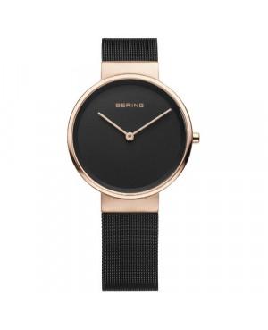 Biżuteryjny, zegarek damski, fashion Bering Classic Collection 14531-166 (14531166)