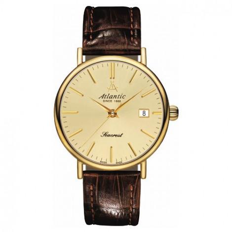 Klasyczny zegarek męski Atlantic Seacrest 50354.45.31 (503544531)