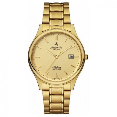 Klasyczny zegarek męski Atlantic Seabase 60347.45.31 (603474531)