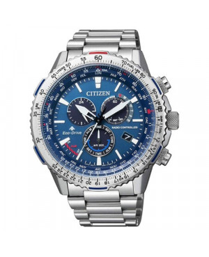 Sportowy zegarek męski CITIZEN PROMASTER Radio Controlled CB5000-50L (CB500050L)