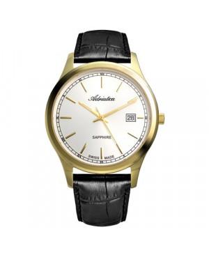 Szwajcarski, klasyczny zegarek męski ADRIATICA A8258.1213Q (A82581213Q).