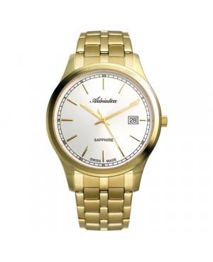 Szwajcarski,elegancki zegarek męski ADRIATICA A8258.1113Q (A82581113Q)