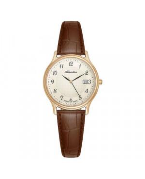Szwajcarski,klasyczny zegarek damski ADRIATICA A3000.1221Q (A30001221Q)
