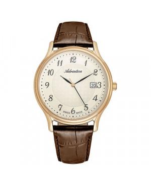Szwajcarski, zegarek męski ADRIATICA A8000.1221Q (A80001221Q)