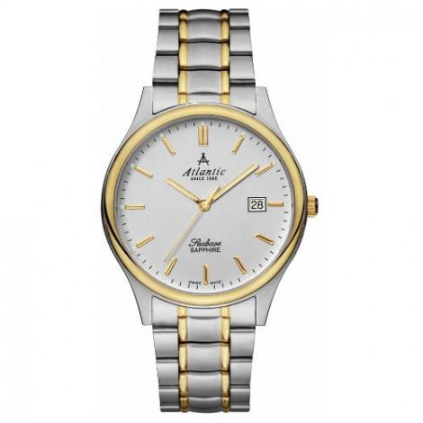 Klasyczny zegarek męski Atlantic Seabase 60347.43.31 (603474321)