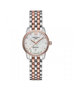 Szwajcarski, elegancki zegarek damski Certina DS-8 Lady 27mm C033.051.22.118.00 (C033.051.22.118.00)