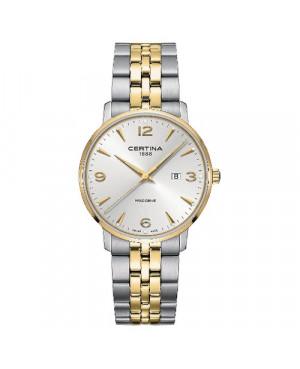 Szwajcarski, klasyczny zegarek męski CERTINA DS Caimano Gent C035.410.22.037.02 (C0354102203702)