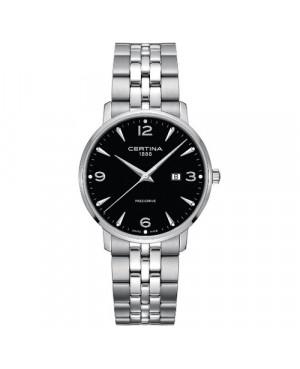 Szwajcarski, klasyczny zegarek męski CERTINA DS Caimano Gent C035.410.11.057.00 (C0354101105700)