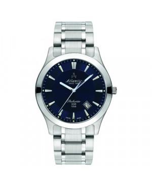 Klasyczny zegarek męski Atlantic Seahunter 71365.41.51 (713654151)