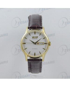 Szwajcarski zegarek męski Tissot Visodate z linii Heritage T019.430.36.031.01 Zegaris Rzeszów