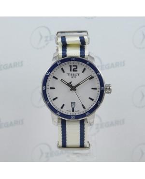 Szwajcarski zegarek męski Tissot QUICKSTER  T095.410.17.037.01 Zegaris Rzeszów