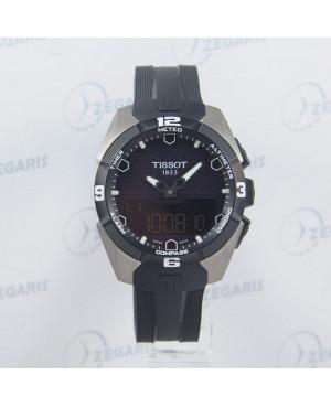 Szwajcarski zegarek męski TISSOT T-TOUCH EXPERT SOLAR T091.420.47.051.00 Zegaris Rzeszów