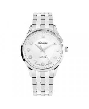 Szwajcarski, elegancki zegarek męski ADRIATICA A1278.5123Q (A12785123Q)