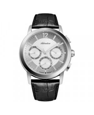Szwajcarski, elegancki zegarek męski ADRIATICA A8273.5253QF (A82735253QF)