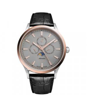 Szwajcarski, elegancki zegarek męski ADRIATICA A8280.R217QF (A8280R217QF)