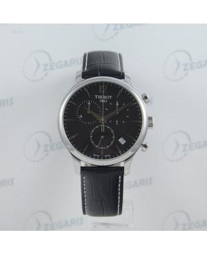 Szwajcarski zegarek męski Tissot Tradition T063.617.16.057.00 Zegaris Rzeszów