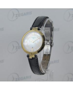Szwajcarski zegarek damski Tissot FLAMINGO T094.210.26.111.00 (T0942102611100) szafirowe szkło