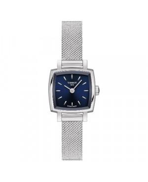 Szwajcarski, elegancki zegarek damski TISSOT LOVELY T058.109.11.041.00 (T0581091104100) na bransolecie